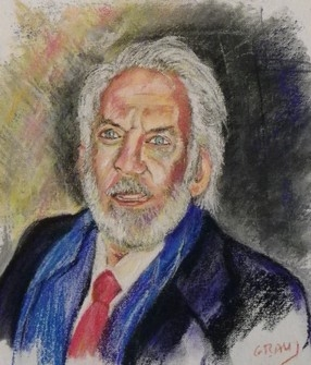 Donald Sutherland by pascou